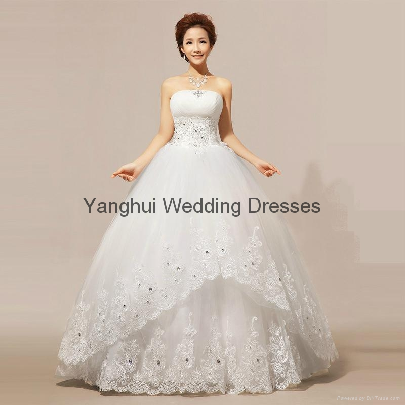 wedding dress YH015 1