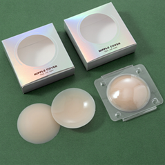 Matte Silicone Glue Medical Grade Solid Adhesive Seamless Nipple Cover