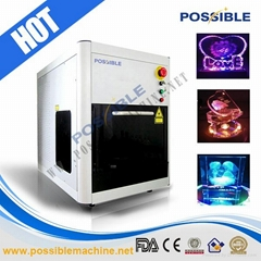 Possible 3D crystal laser engraving machine