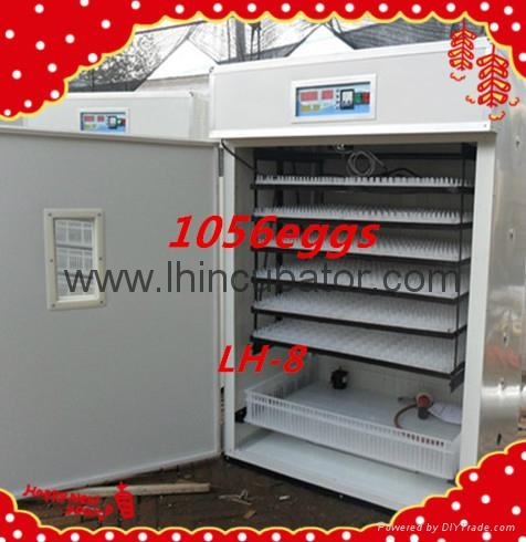Wooden packed fully Automatic Egg Incubator for sale 1