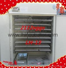 2015hot sale 2112 eggs chicken incubator, best price