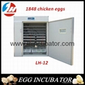 Full Automatic Chicken Egg Incubator for