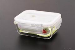 320ML正方形耐熱玻璃保鮮盒
