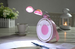 USB Fan with LED Lights and cosmetic mirror