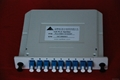 Optical Fiber PLC Splitter Slot Box (1X2