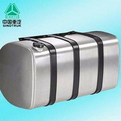 SINOTRUK HOWO truck aluminum fuel tank WG9925550001 stainless steel fuel tank