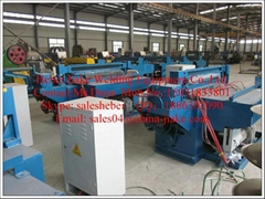 High-efficiency and energy-saving automatic welded wire mesh machine