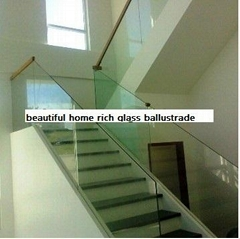 glass ballustrade