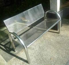 戶外公園小區鑄鐵公園椅子
