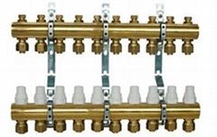 黃銅整體式分集水器