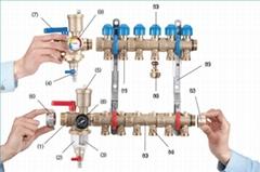 M6 BM黃銅鍛造組合式分集水器
