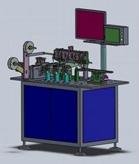 自動視覺CCD平面度檢測包裝機