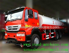 SINOTRUCK SWZ WATER TANK TRUCK 6x4 25000L hot sale