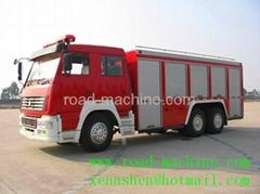 SINOTRUK12T/12M3 FOAM HOWO FIRE TRUCK