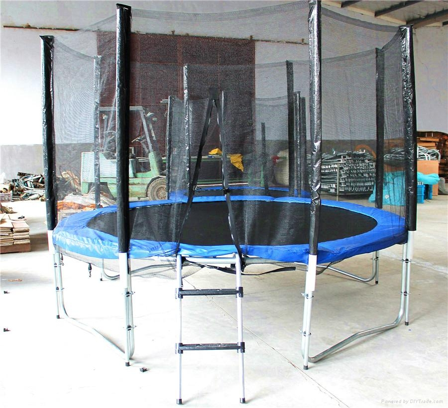 8FT Bungee Trampoline Outdoor Sports 5