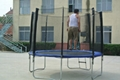 12ft inside bungee trampoline with