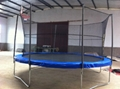 12ft inside bungee trampoline with safety enclosure 4