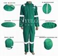 綠色阻燃連體服 2