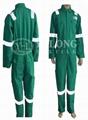 綠色阻燃連體服 1