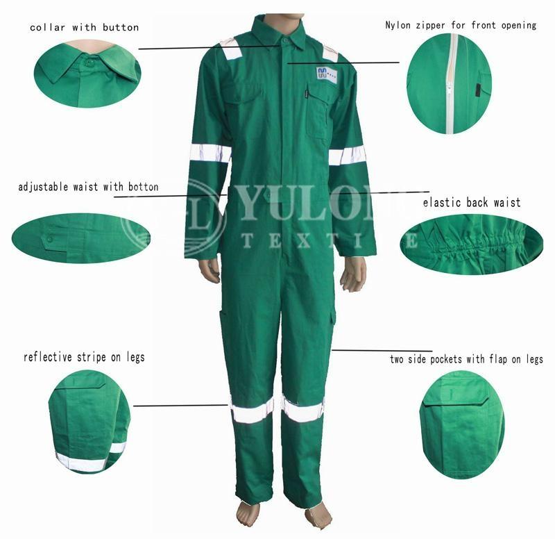 綠色阻燃連體服 3