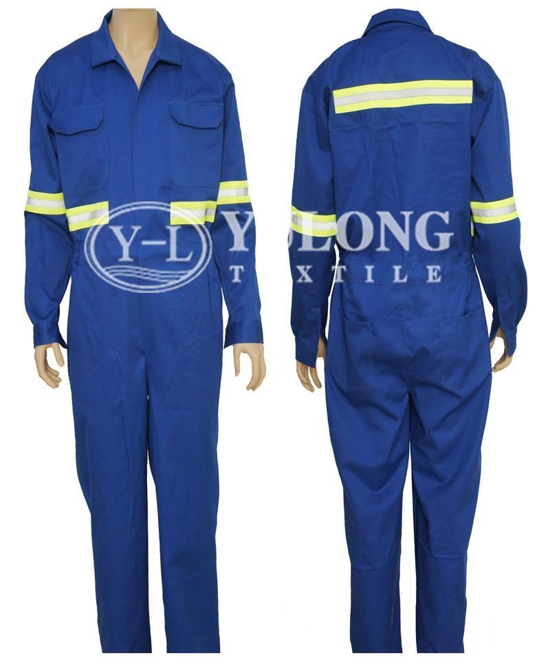 艷藍色阻燃連體服 1