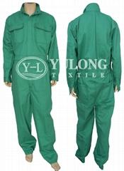 綠色阻燃連體服