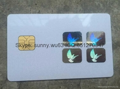 visa credit card hologram sticker