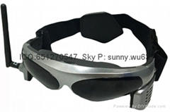 smart glasses V100S Portable 3D porn theatre video glasses virtual TV glasses