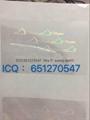 Virginia ID overlay VA state hologram