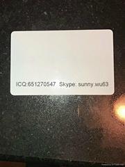USA ID Teslin blank white card teslin ID printing card