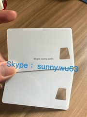 ID polycarbonate card Window Card