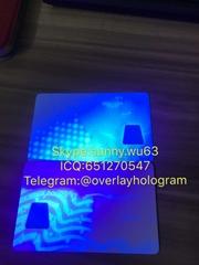 New York uv plastic card UV blank card