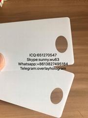 New Virginia window card state ID Polycarb card