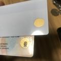 Florida window white card Florida ovi Gold window card with magnetic strip