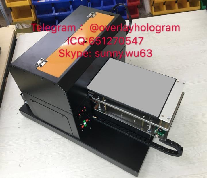 ID Engrave machine printer inkjet printing machine raise letter printting