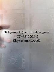 New Georgia ID laminate sheet GA ID overlay