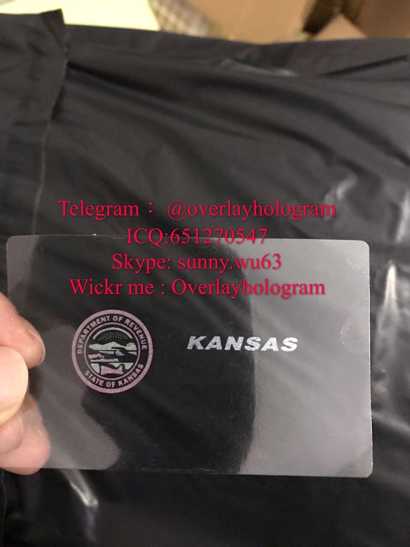 Kansa ID hologram sticker  2
