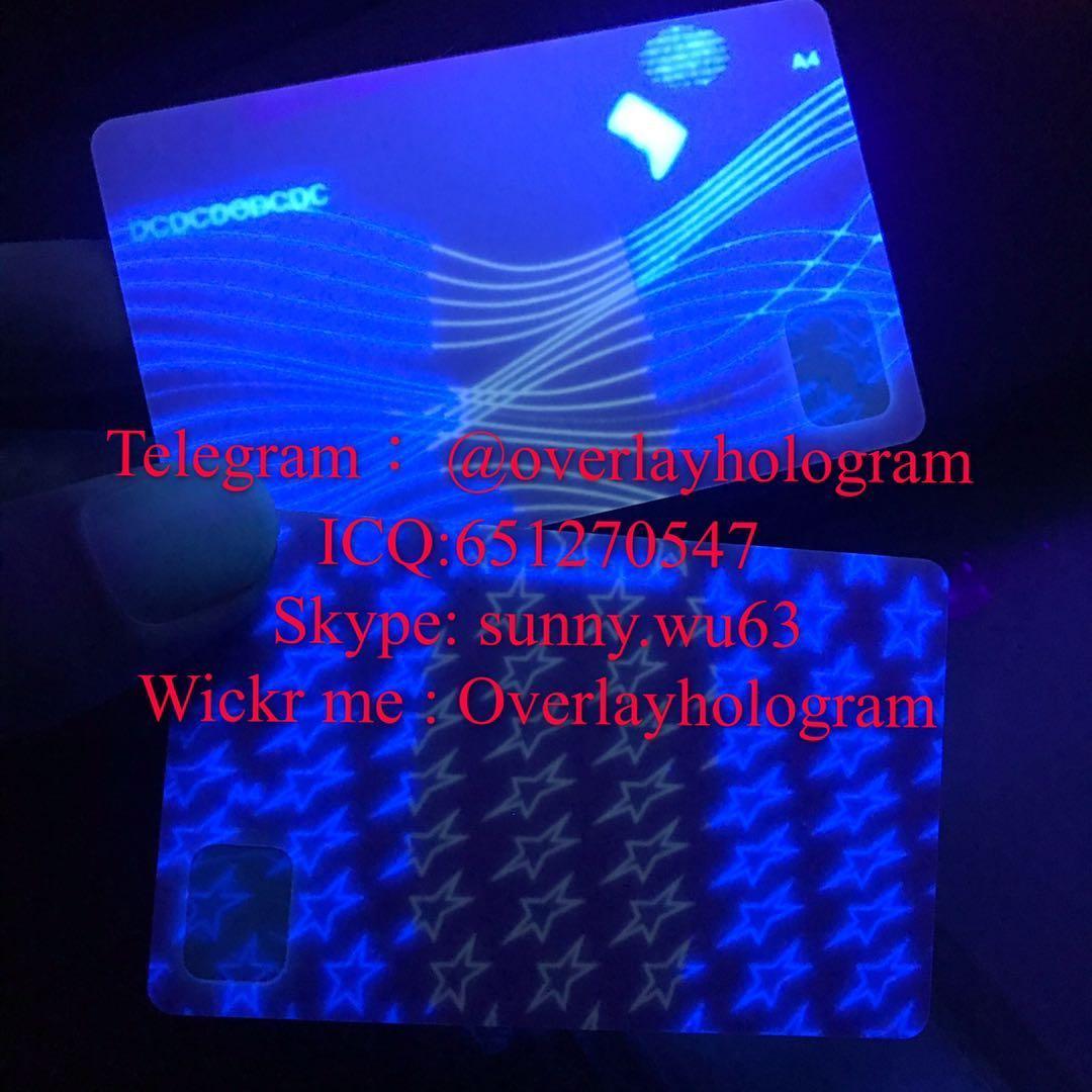 Washington DC ID card blank DC DL card