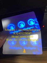 WA DL uvcard Washington Blank UV card