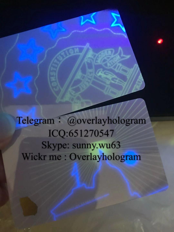 New Georgia ID UV card fake GA ID card