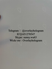 NV teslin perfs Nevada ID laminate sheet teslin paper