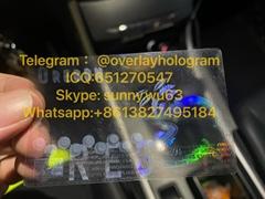 New Oregon ID sticker overlay OR uv overlay