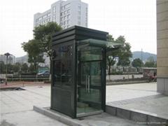 上海通天市政不锈钢岗亭