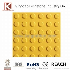 Rubber & PVC tactile tiles