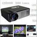 Mini Led Projector With hdmi usb vga tv