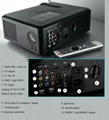 dvb-t CL740D Projector With hdmi usb vga tv Media Tuner Connect Digital TV 3