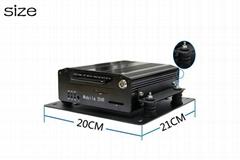 4 Channel 3G Hard Disk Mobile DVR