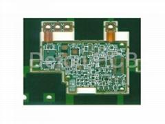 Rigid-flex +HDI Multilayer PCB