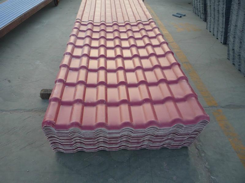 Plastic Spanish Fiberglass Roof Tile Yhasa0006 Yh