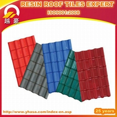 Hot Sale ASA Corrugated Synthetic Resin Roof Tile